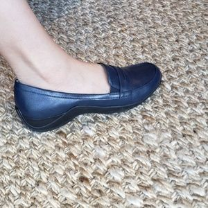 Life Stride Shoes - NEW Life Stride | Dark Navy Blue Penny Loafers